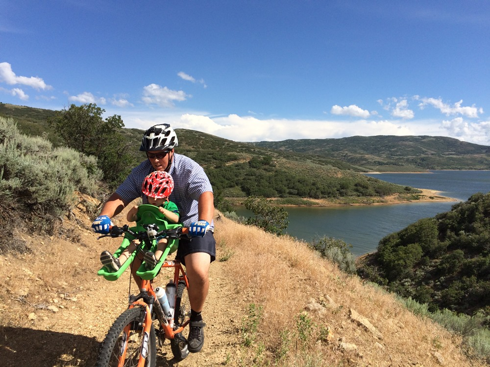 Outdoor Families Magazine - Mountain Biking With Kids, the 101 Version