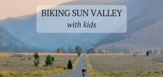 Biking Sun Valley with Kids