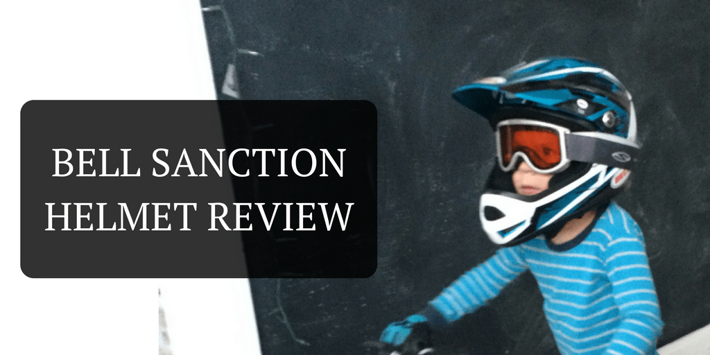 Bell Sanction Kids Full Face Helmet Review -