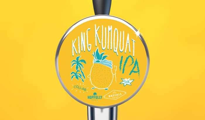 Rascals Craft Brewing Kumquat ipa
