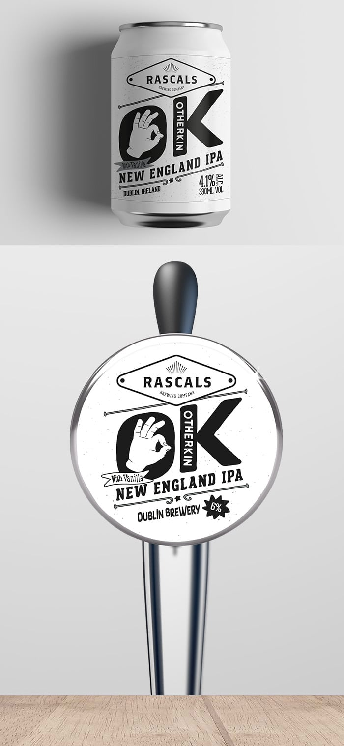 Rascals Craft Brewing Otherkin New England IPA Tasting Notes