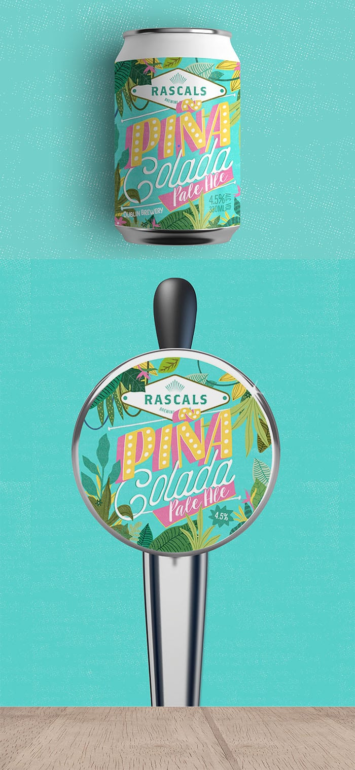 Rascals Craft Brewing Pina Colada Pale Ale Tasting Notes