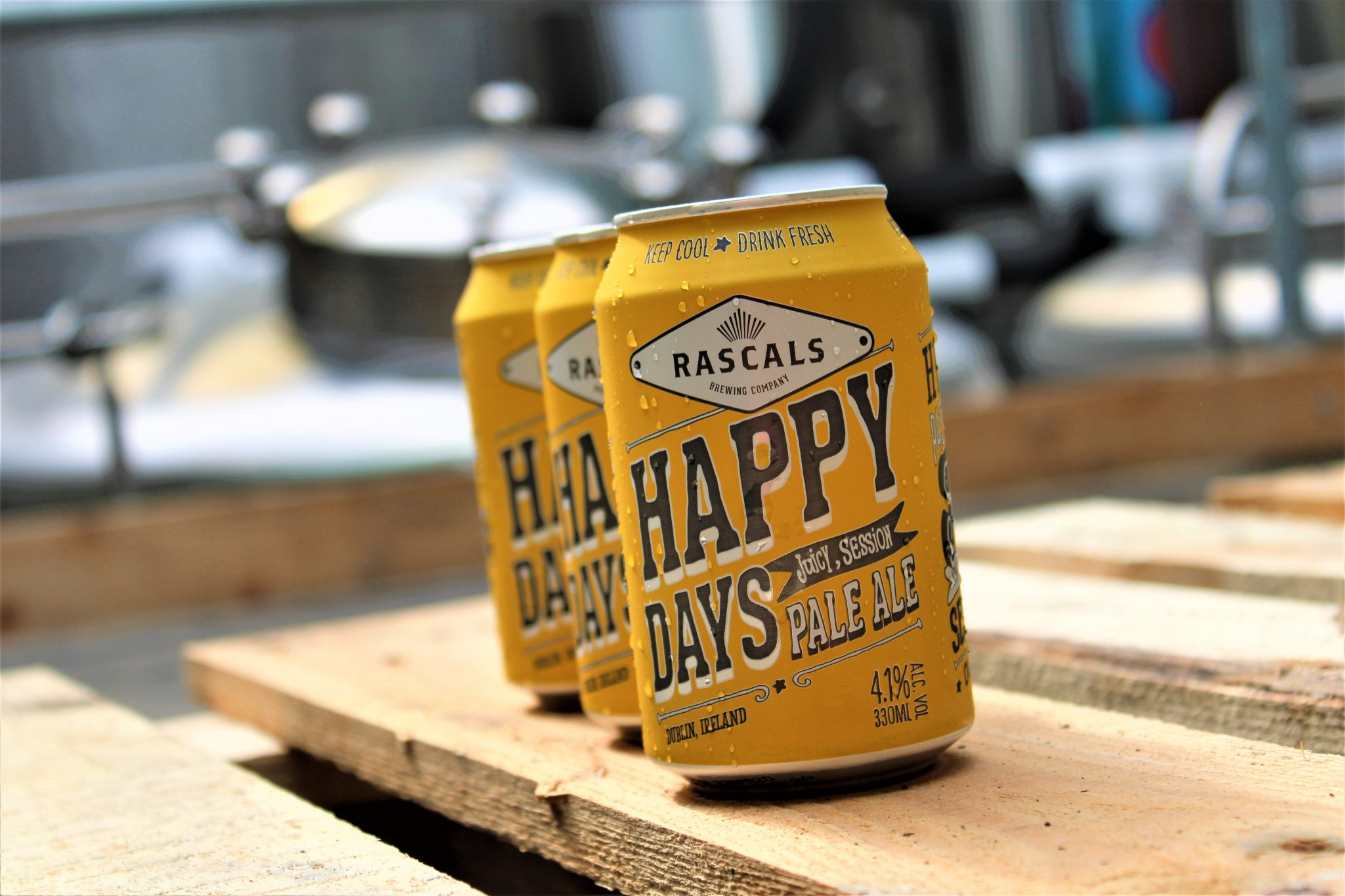 The best Irish craft beer brewed by Rascals Brewing Company, Dublin
