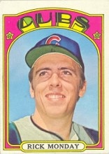 Topps 1972 Monday