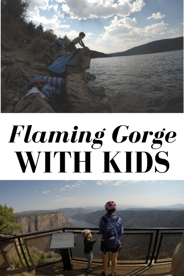 Flaming Gorge with Kids