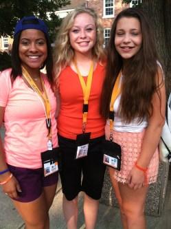 My JC Carseen Janesen and friend Jenna at MASC/MAHS camp