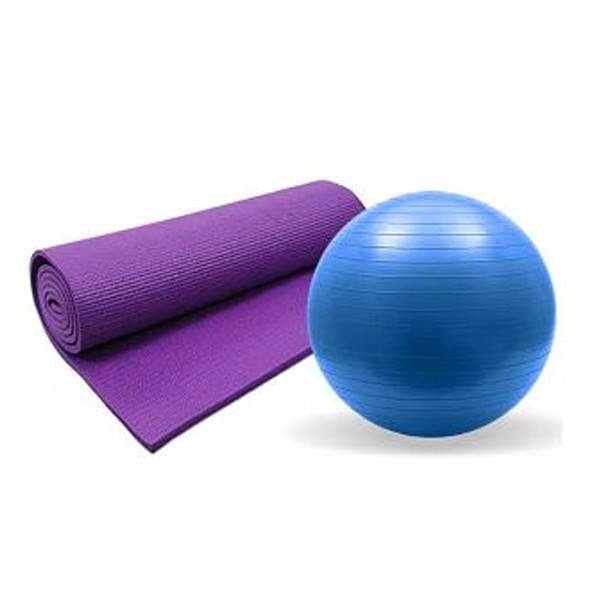 Gym Ball & Yoga Mats(combo)