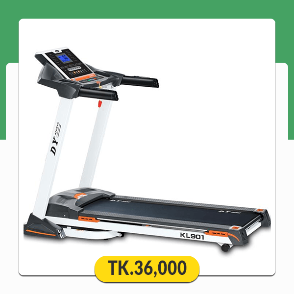 Foldable Motorized Treadmill KL 901