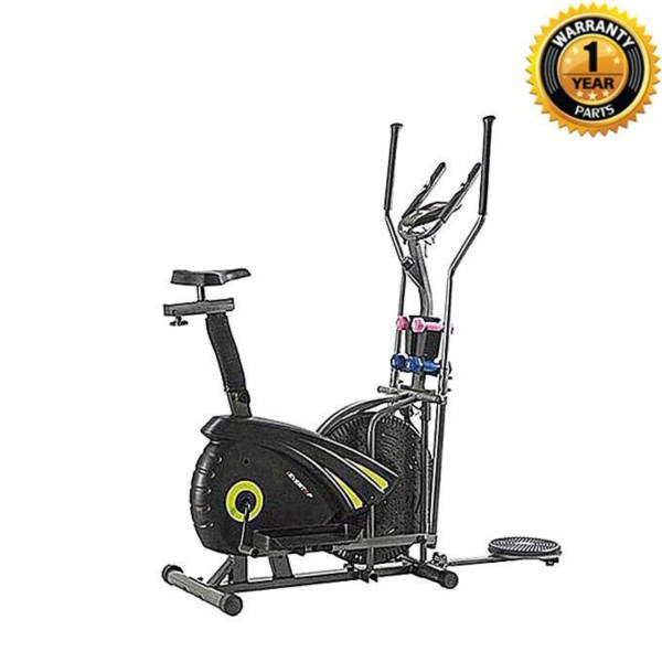 Orbitrac Multifunction Exercise Bike ET-ORB16DAH - Black