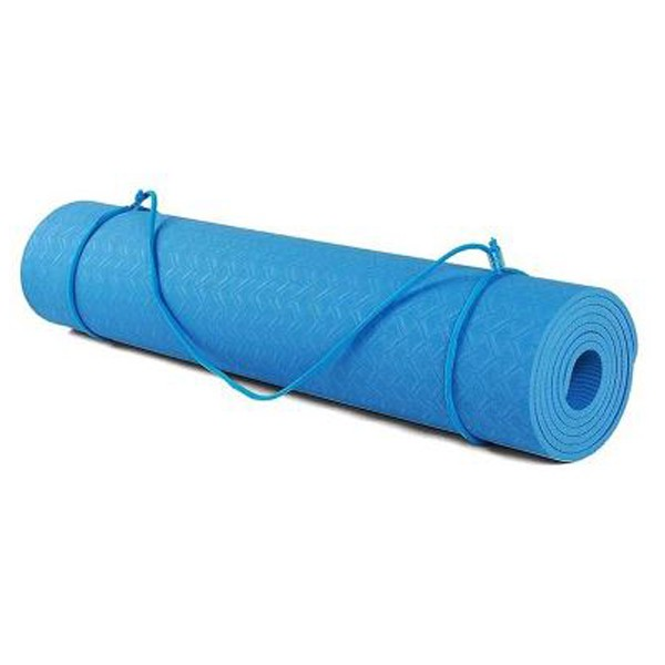 TPE YOGA MAT 6MM- ECO FRIENDLY