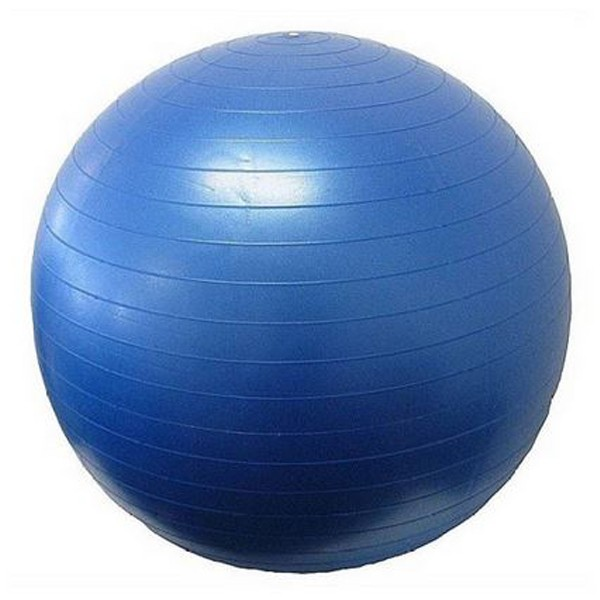 Yoga massage ball Blue 65 cm