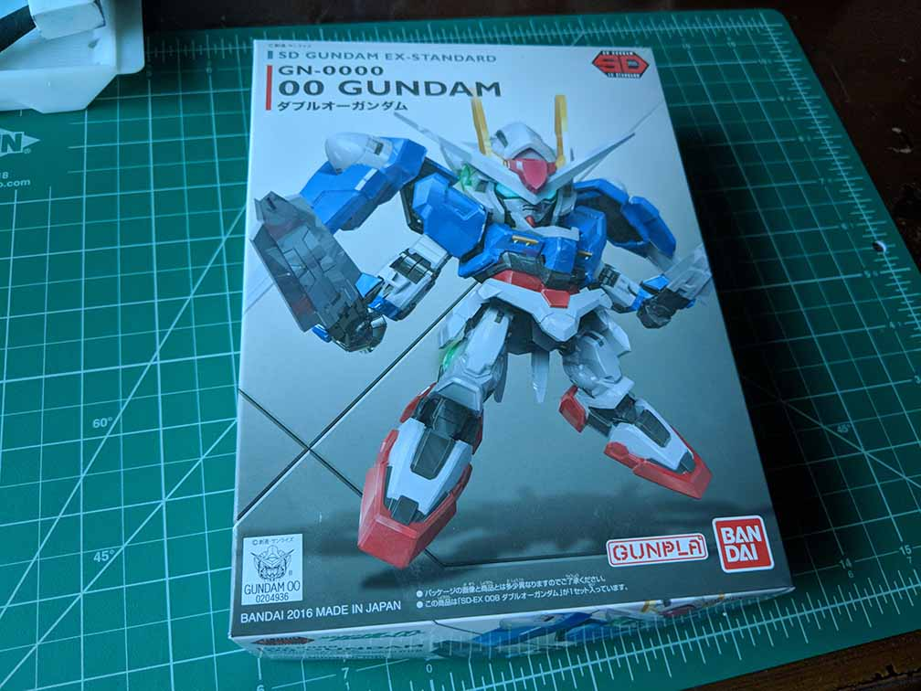Build & Chill: Ver  Blog #1 - SD-EX 00 Gundam - The Rasen Zone