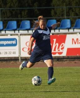 Kimberly Stegermaier war, ist und bleibt eine wichtige Größe im Team Staaken.