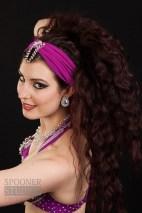 Oxford bellydancer Rasha Nour in purple 11