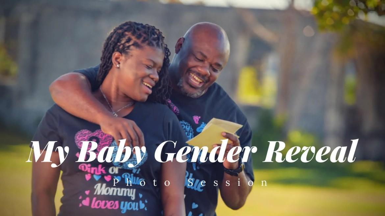 My Baby Gender Reveal – Photo Shoot