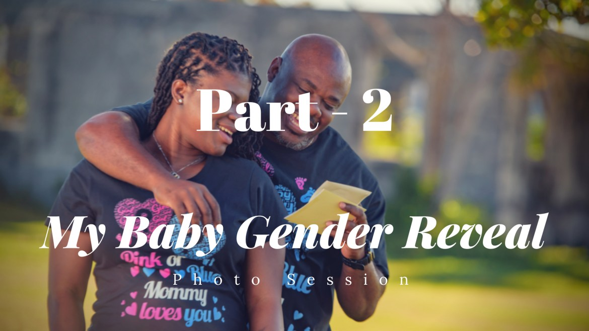 My Baby Gender Reveal – Photo Shoot part 2