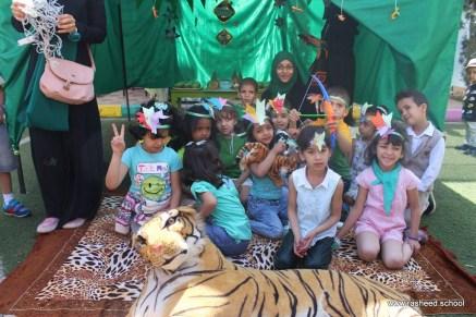 مخيم مدرسي في اختتام أنشطة التمهيدي - مدارس الرشيد الحديثة (10)
