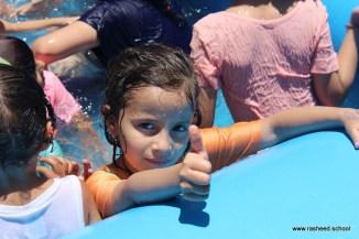 مخيم مدرسي في اختتام أنشطة التمهيدي - مدارس الرشيد الحديثة (26)