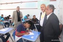 مدير مكتب التربية يتفقد سير الاختبارات بمدارس الرشيد الحديثة فرع معين الإنجليزي (3)