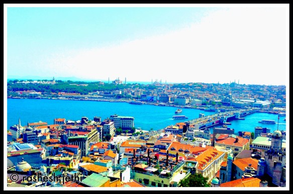 bridging continents/ history deep, waters blue/ thrilling…Istanbul!