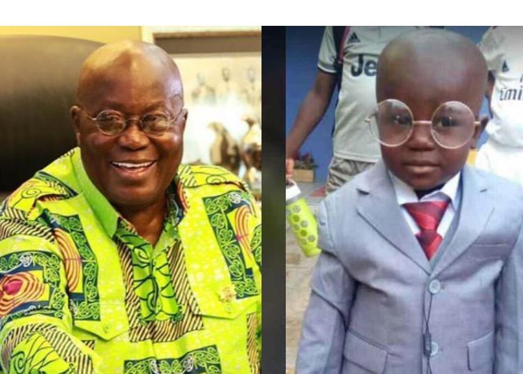 Ghanaians Call Out President AKUFO ADDO To Speak The Truth- IS THIS BOY YOUR SON?