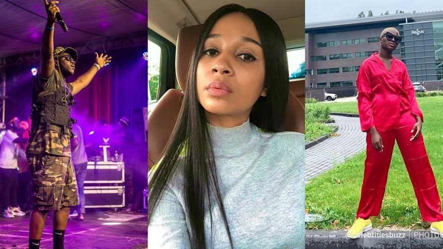 Sister Derby, Medikal and Fella perform on the same stage in Amsterdam