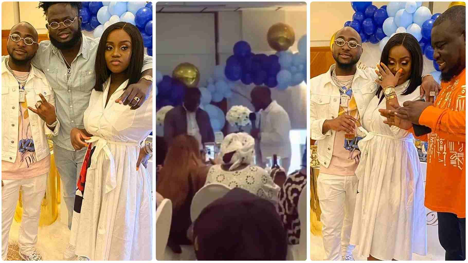 Watch: Naming ceremony of Davido and Chioma's newborn son David Jnr. Ifeanyi Adeleke