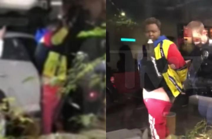 Sean Kingston detained as police search for guns following 911 call from burger joint' but is released