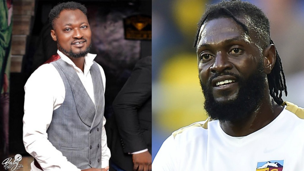 Stop this and focus on your life - Adebayor tell Funny face