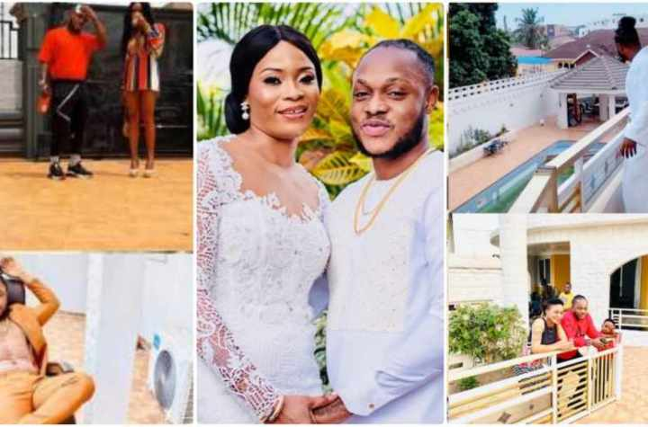 Keche's Wife puts her massive and luxurious mansion on display