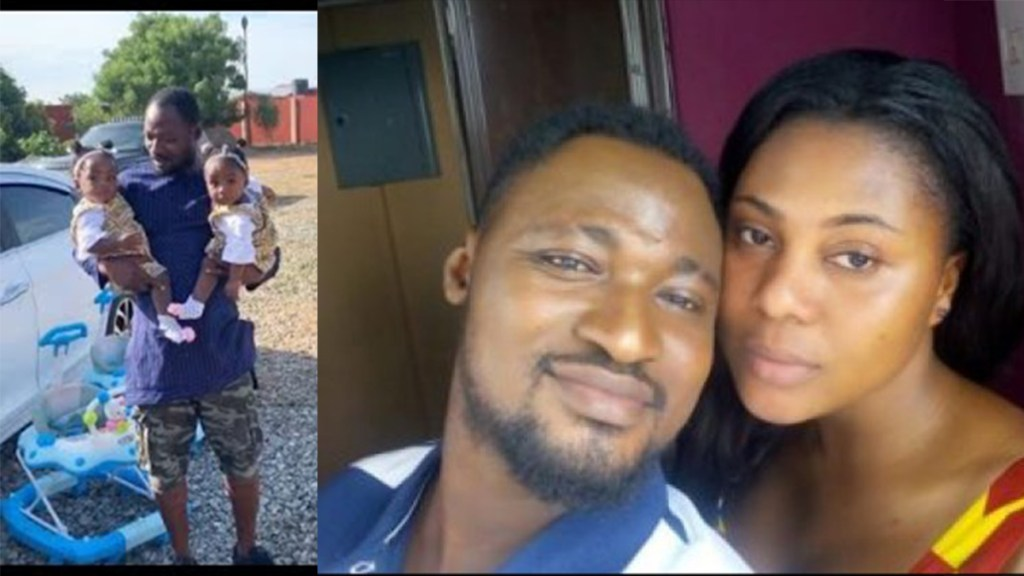 Funny Face accuses his new wife of betraying him and leaving with his twins