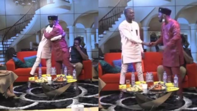 Funny Face And Lil Win Finally Make Peace After Fighting Each Other On UTV
