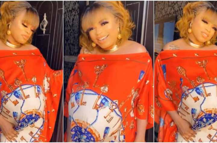 Bobrisky announces she's pregnant: says she's the first transgender to ever pick seed