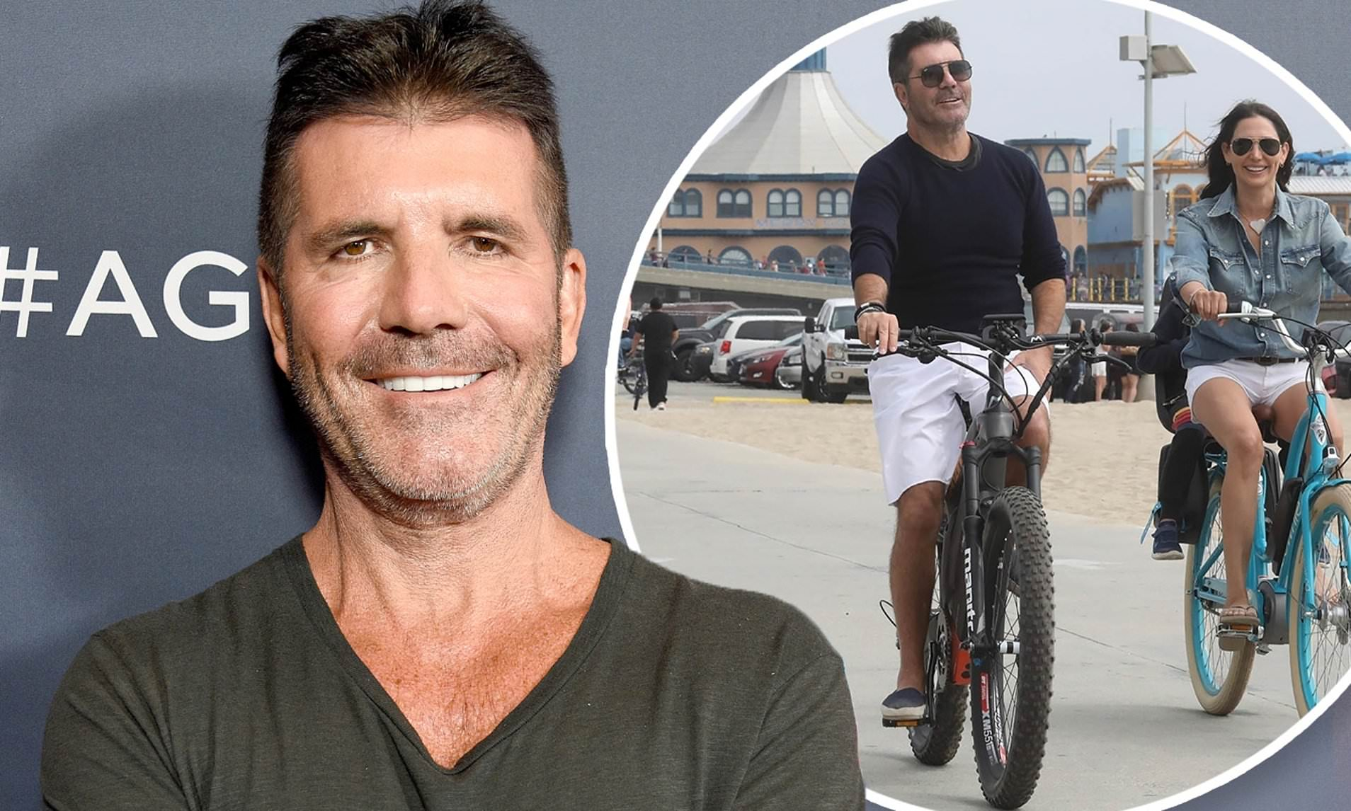 Simon Cowell breaks back falling from electric bike