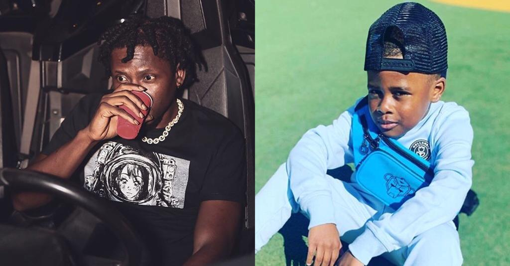 Mugeez Shows Off His Son In a New Photo