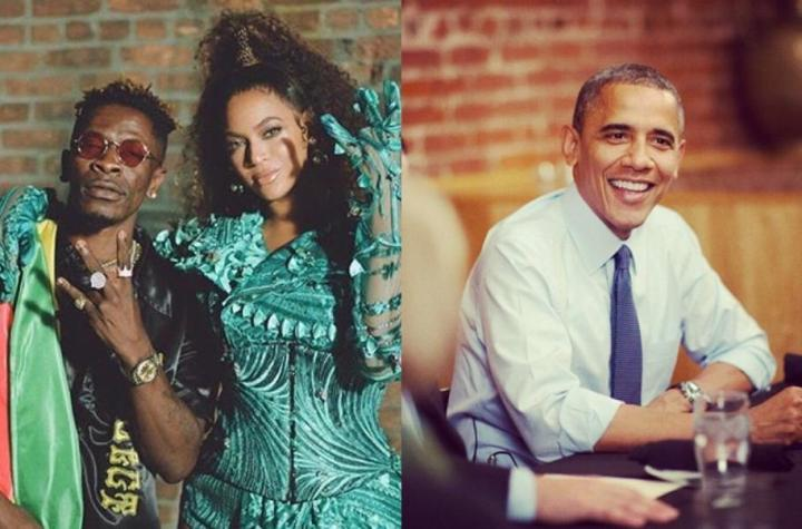 Shatta Wale And Beyonce's Already Makes It To Obama's Most Played Songs For This Summer