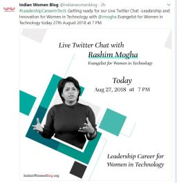 twitter live chat