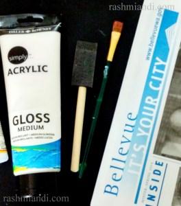 Acrylic gloss medium