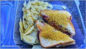 First look- Bombay Club Sandwich