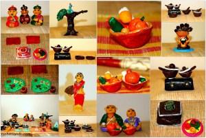 Handmade Golu Dolls