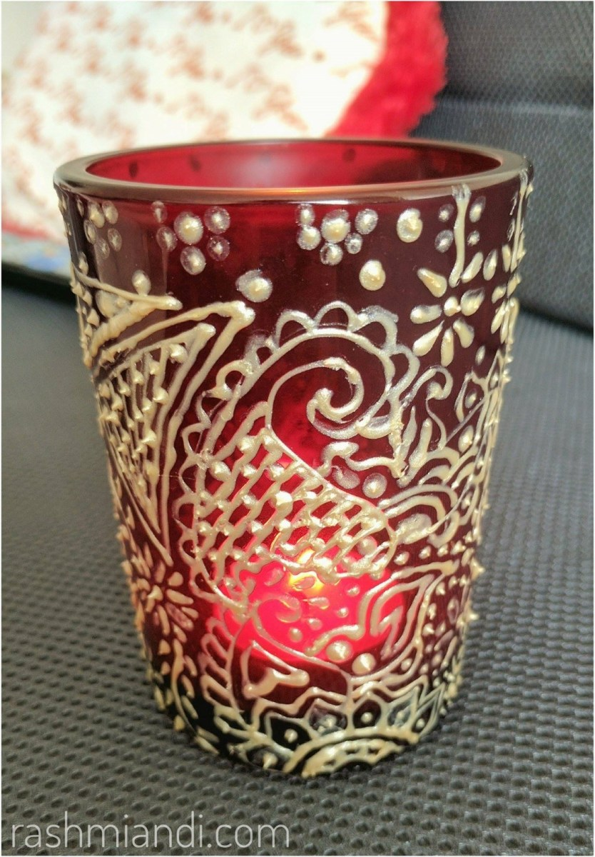 DIY Re-purposed Tealight Candle Holder