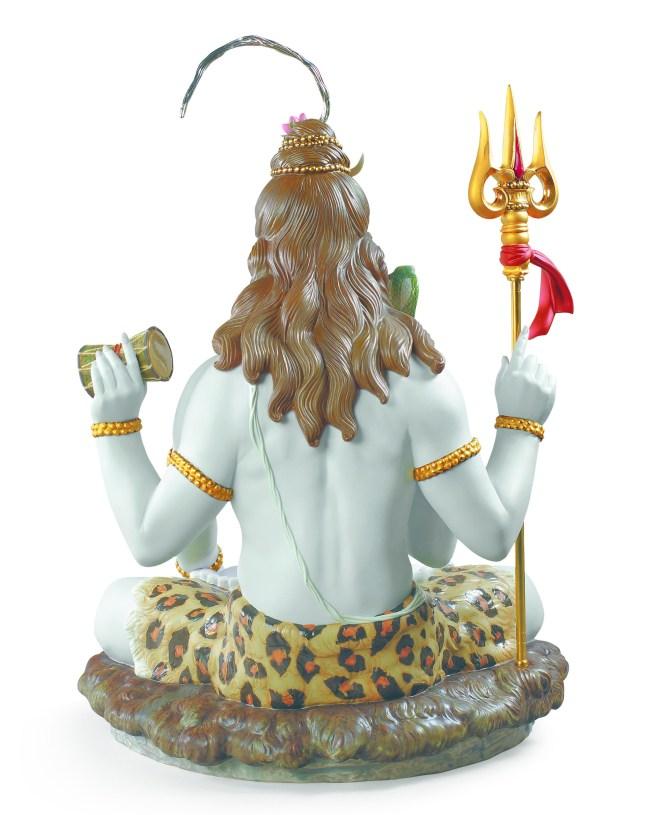 Lord Shiva back