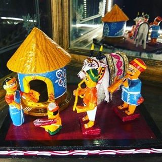 Reminiscing the Golden chariot journey Channapatna toys on display inhellip