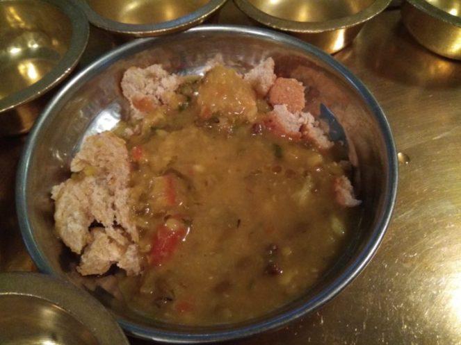 Traditional Dal Bhatti Churma