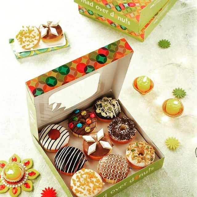 Refreshing Diwali donuts from Mad over Donuts Nine exciting flavourshellip