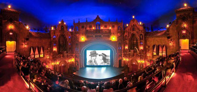 Tampa theatre stage| Courtesy of Tampa Theatre