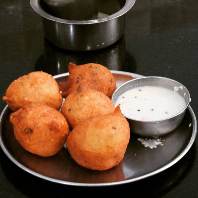 Golli bajji savoury refined flour fritters are a popular teahellip