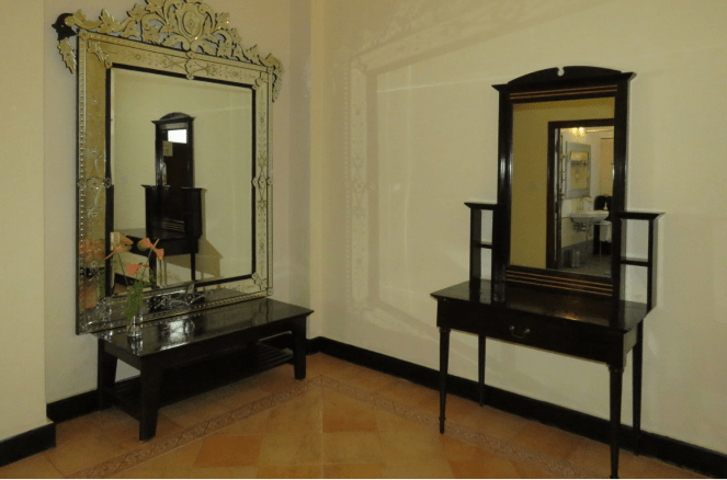 Antique furniture at Metropole