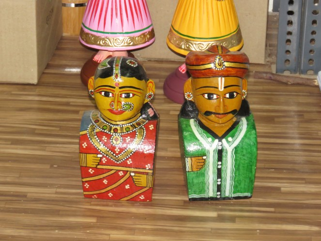 "A typical ""Kondapalli"" couple"