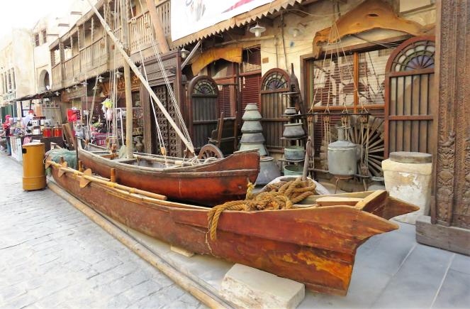 Antiques at Souq Waqif, Doha